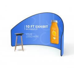 10 ft Exhibit Media Wall H1