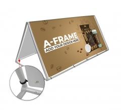 A Frame Banner Stands
