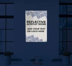 Reflective Acrylic Signs