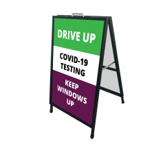Drive Up Covid-19 Testing Metal Frames