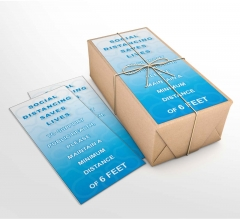 Social Distancing Saves Lives Business Flyers (Non folded)