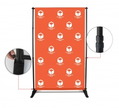 5 ft x 8 ft Step and Repeat Adjustable Banner Stands