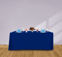 6' Convertible/Adjustable Table Covers - Blue