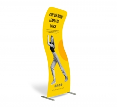 Fabric Display Stand S Shape