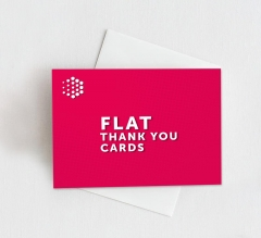 Flat Thank You Cards