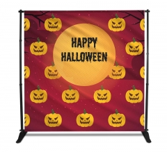 Halloween Fabric Media Walls - Step and Repeat Event Backdrops