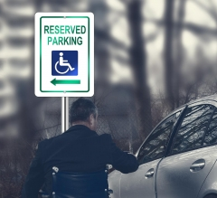 Reflective Handicap Parking Signs