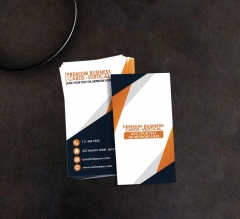 Premium Business Cards - Vertical