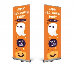 Halloween Pull Up Banners