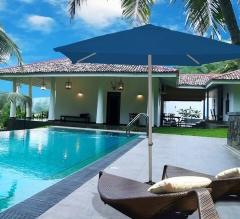 2m x 2m Outdoor Market Umbrella - Royal Blue