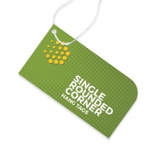 Single Rounded Corner Hang Tags