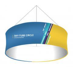 Sky Tube Circle Hanging Banners