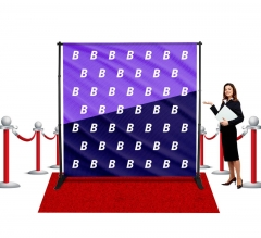 Fabric Media Walls - Step and Repeat Event Backdrops