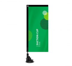 Suction Cup Flags - Rectangle