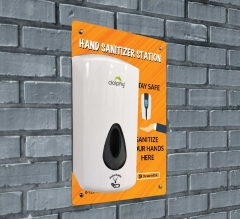 Touch-Free Dispenser Wall Mounted Sign