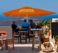 2m x 2m Printed Outdoor Market Umbrella