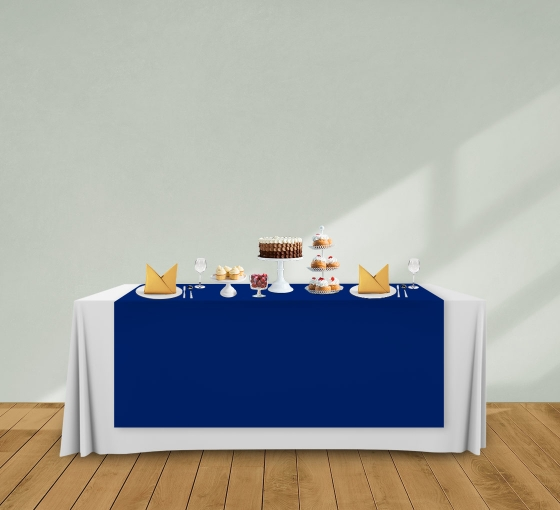 5' x 6' Table Runners - Blue