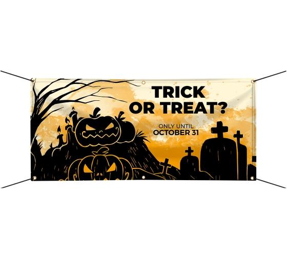 Halloween Custom Vinyl Banners