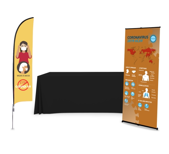 Safety Awareness Economy Display Package
