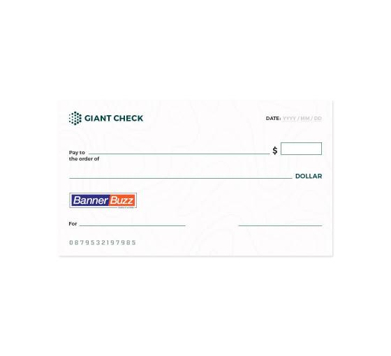 Custom Novelty Cheques