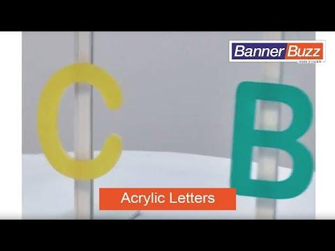 Acrylic Letters and Numbers