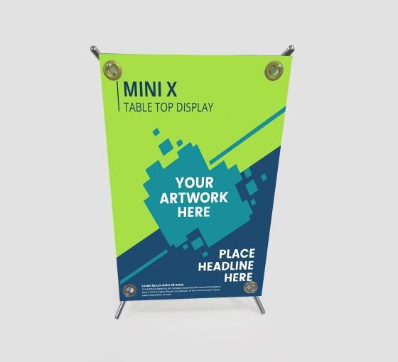 Mini X Table Top Display