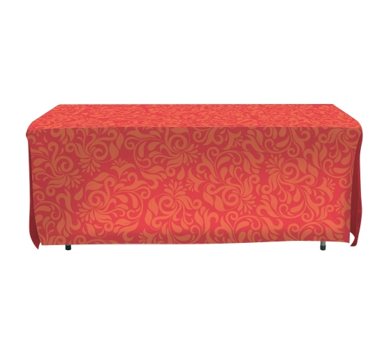 Open Corner Table Covers - 4 sided