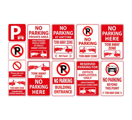 PRIVATE PARKING WARNING SIGN *PERSONALISED*CUSTOM MADE*