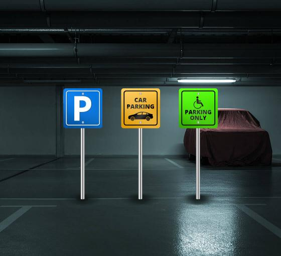 Car Window Guards >> Custom Made Parking Signs | Aluminium Signs Online