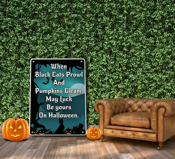 Halloween Patio Signs