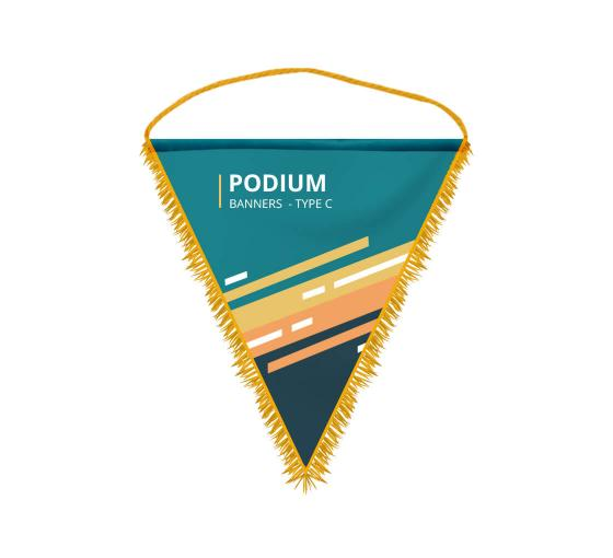 Podium Banners - Type C
