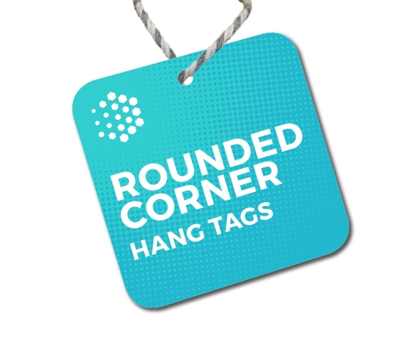 Rounded Corner Hang Tags