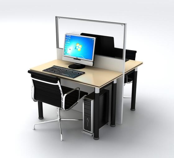SEG Office Desk Partitions - 2 Desk