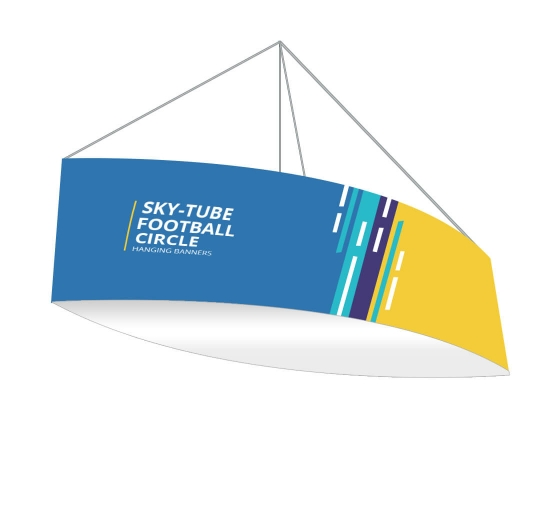 Sky Tube Football Hanging Banners