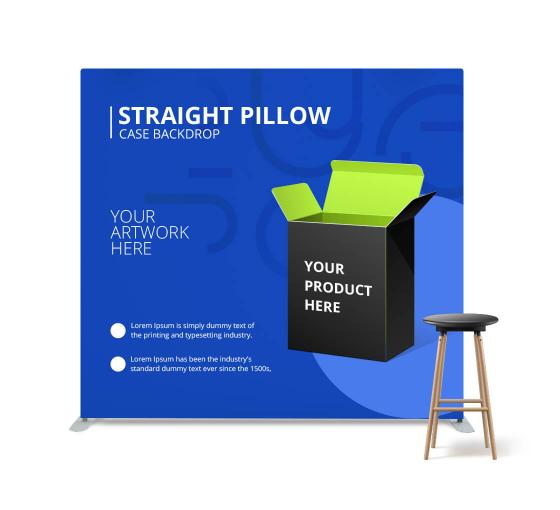 Straight Pillow Case Media Wall