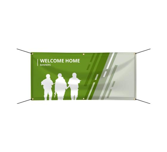 Welcome Home Banners